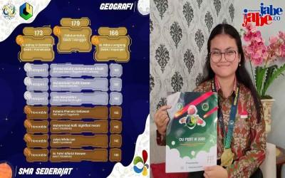 Bravo! Siswi SMA N 1 Manggar Ini Raih Tahta Tertinggi 3rd OPSILON Nasional 2020 Bidang Geografi