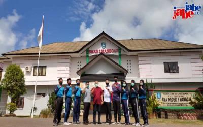 Enam Siswa SMA Negeri 1 Manggar Akan Bertugas Sebagai Paskibraka Kabupaten Belitung Timur