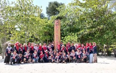 Family Tour, Keluarga Besar SMA Negeri 1 Manggar Trip To Leebong Island