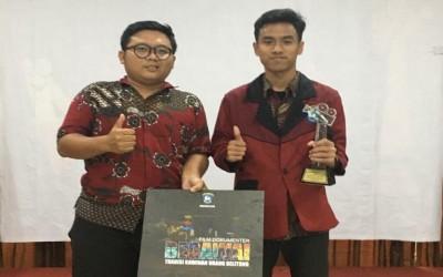 Rifqi Maulana Juara 3 Film Pendek Kebudayaan Grafika 2019 BPNB Kepulauan Riau